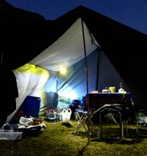 lampe frontale camping
