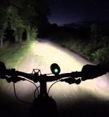 support pour lampe frontale vtt